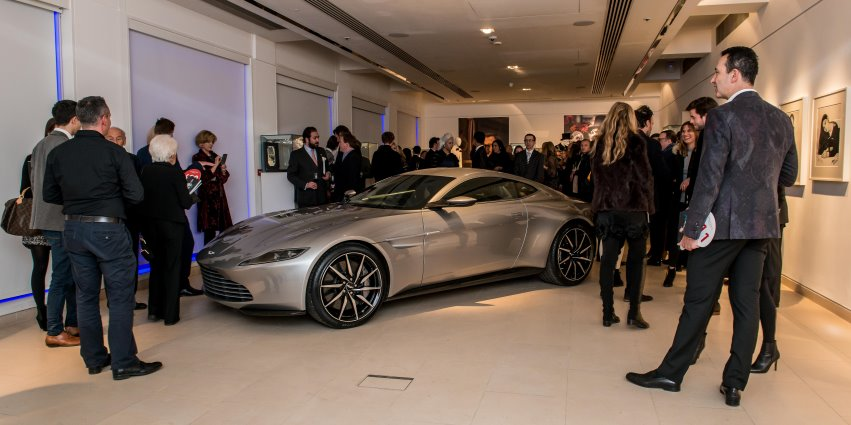 James Bond's Aston Martin DB10 from <i>Spectre</i> sells for £2,434,500 at auction