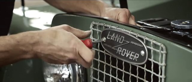 Sponsored video: Land Rover brings a '57 Series I back to life for four university friends
