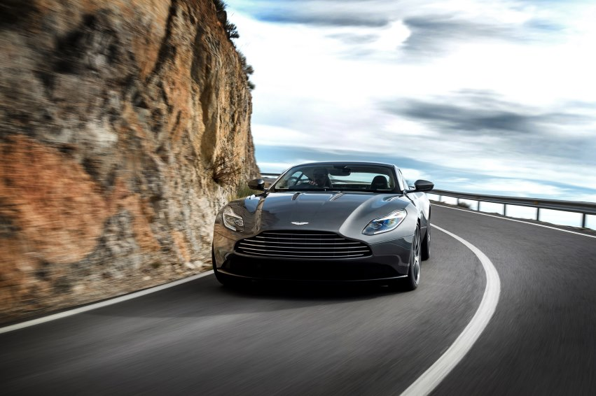 Aston Martin shows DB11 at Genève: the dawn of a new line of exclusive sports cars