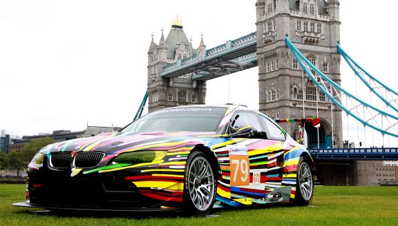 BMW Art Cars on show in London for the first time