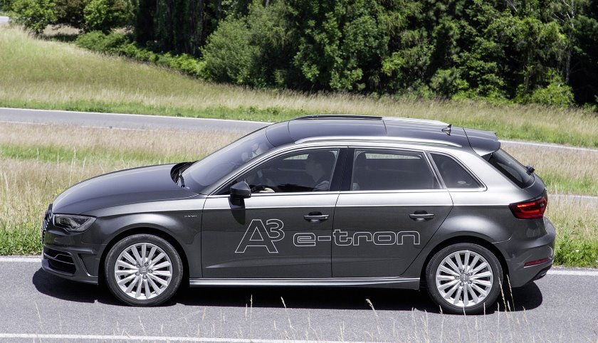 Audi releases A3 Sportback E-tron, its first plug-in hybrid