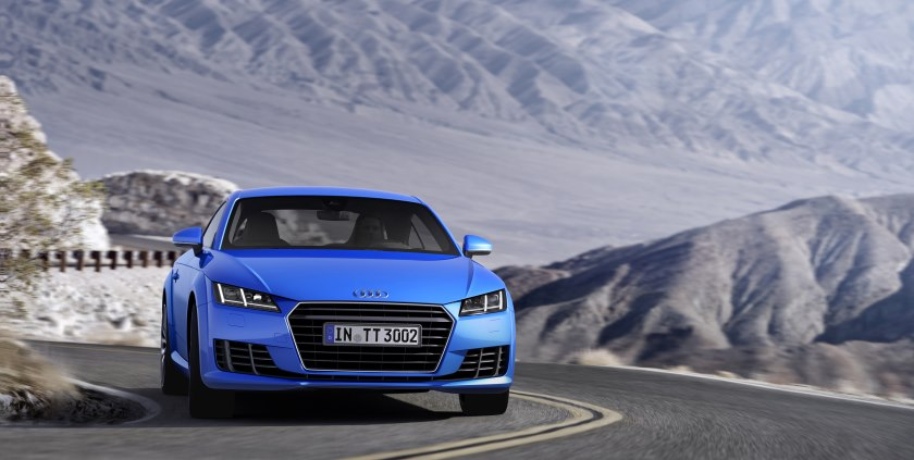 Audi's new TT is leaner and greener