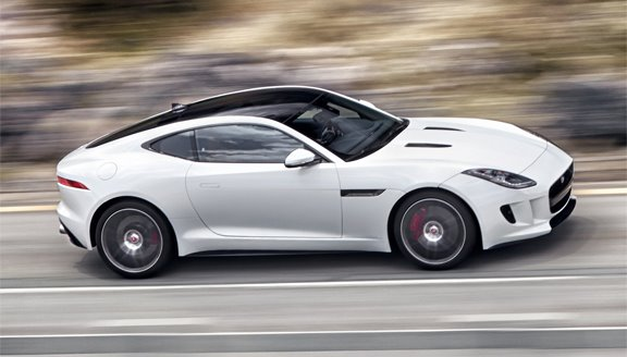 Jaguar launches F-type coupé at Los Angeles Auto Show