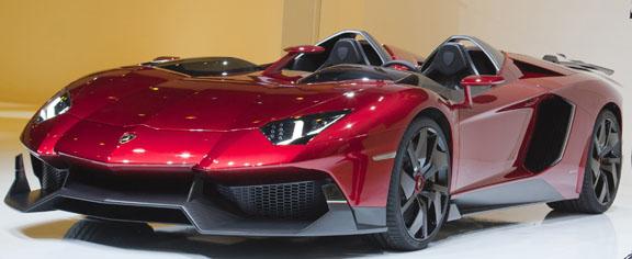 Lamborghini shows 'extreme' Aventador J; Rolls-Royce updates Phantom range
