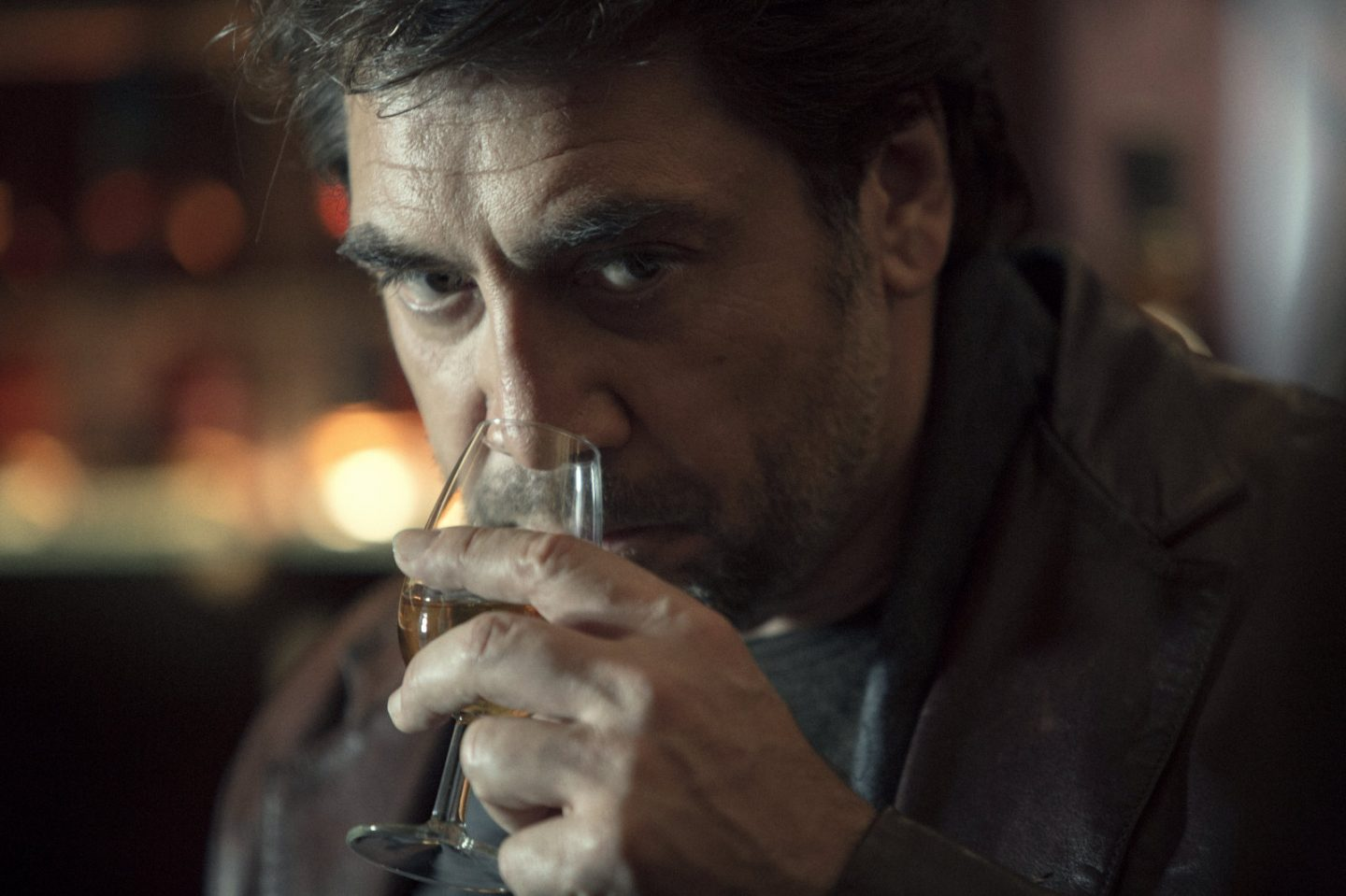 Javier Bardem visits the Scottish Highlands' home of Chivas Regal for future promotional film