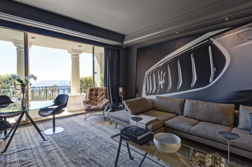 Two great luxury brands come together: Hôtel de Paris offers Maserati suite package