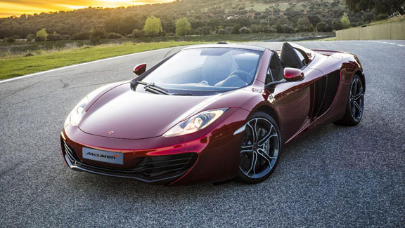 McLaren releases MP4-12C Spider—with nearly identical performance figures to coupé