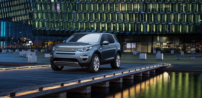 Land Rover Discovery Sport revealed—claimed to be most versatile, capable premium compact SUV