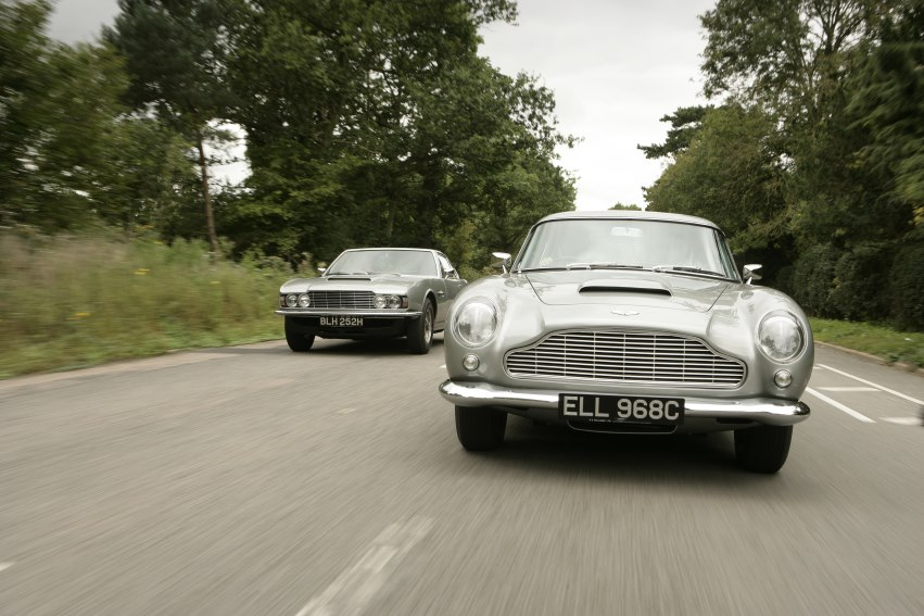 <i>Classic and Sports Car</i>—the London Show to celebrate Aston Martin with seven landmark models