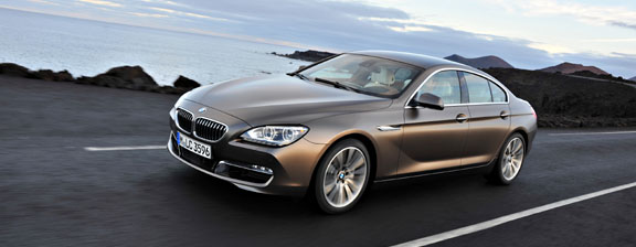 BMW introduces a four-door tourer: the 6-series Gran Coupé