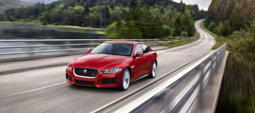 Jaguar launches XE, with David Gandy, Eva Herzigova, Laura Whitmore, Eliza Doolittle