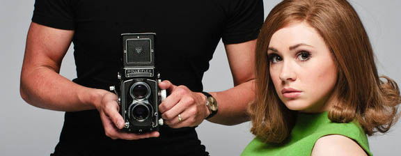 BBC releases first pic of Karen Gillan as Jean Shrimpton in new bio-pic
