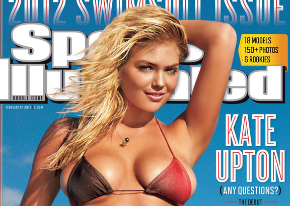 Kate Upton is the <i>Sports Illustrated</i> Swimsuit Issue cover model for 2012