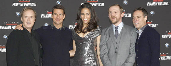 <i>Mission Impossible: Ghost Protocol</i> premières alongside BMW Vision EfficientDynamics concept