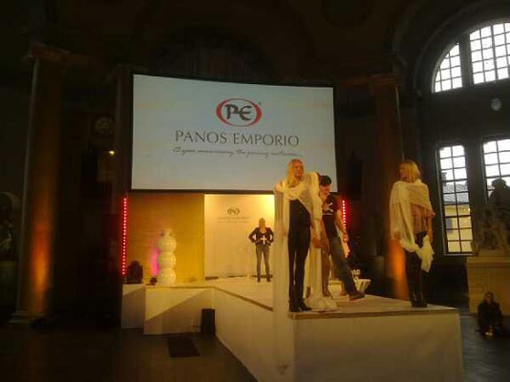 Panos Emporio's 25th anniversary party