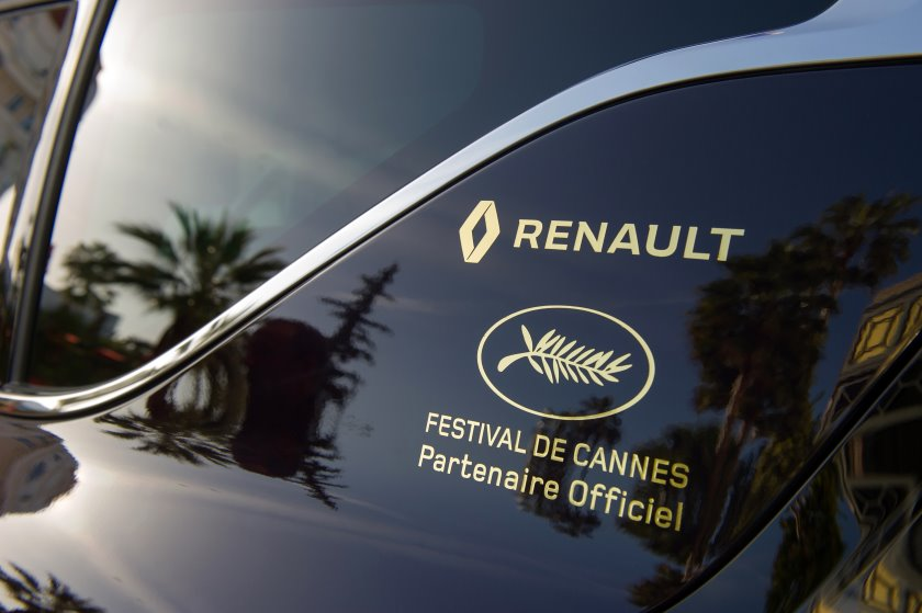 Renault Espace is the official car of the Cannes Film Festival
