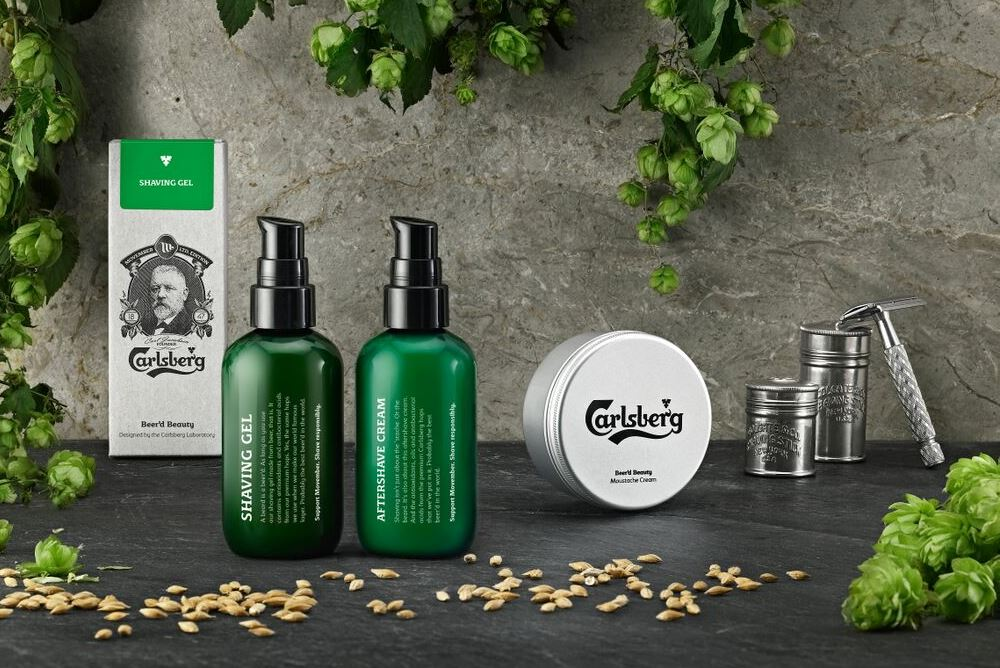 Sponsored video: Carlsberg's Beer'd Beauty male grooming line supports Movember