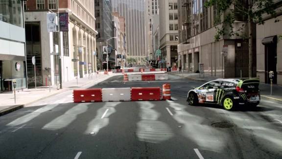 Not your Mum's Ford Fiesta: Ken Block rallies around San Francisco for DC Shoes